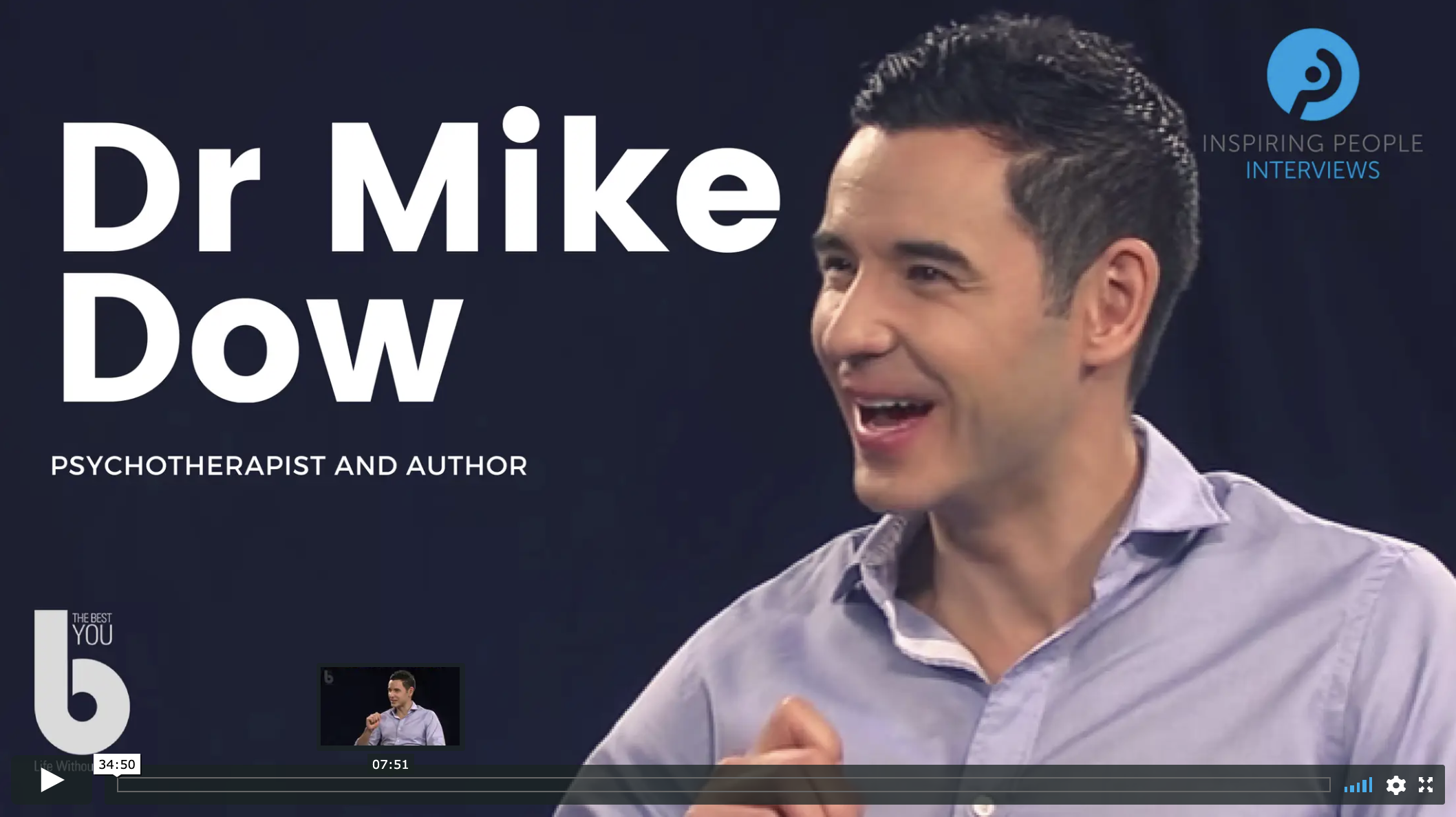 Dr Mike Dow - Inspiring People Interview