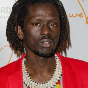 Emmanuel Jal at arrivals for We Are Family Foundation 2014 Celebration Gala, Hammerstein Ballroom, New York, NY March 6, 2014. Photo By: Eric Reichbaum/Everett Collection