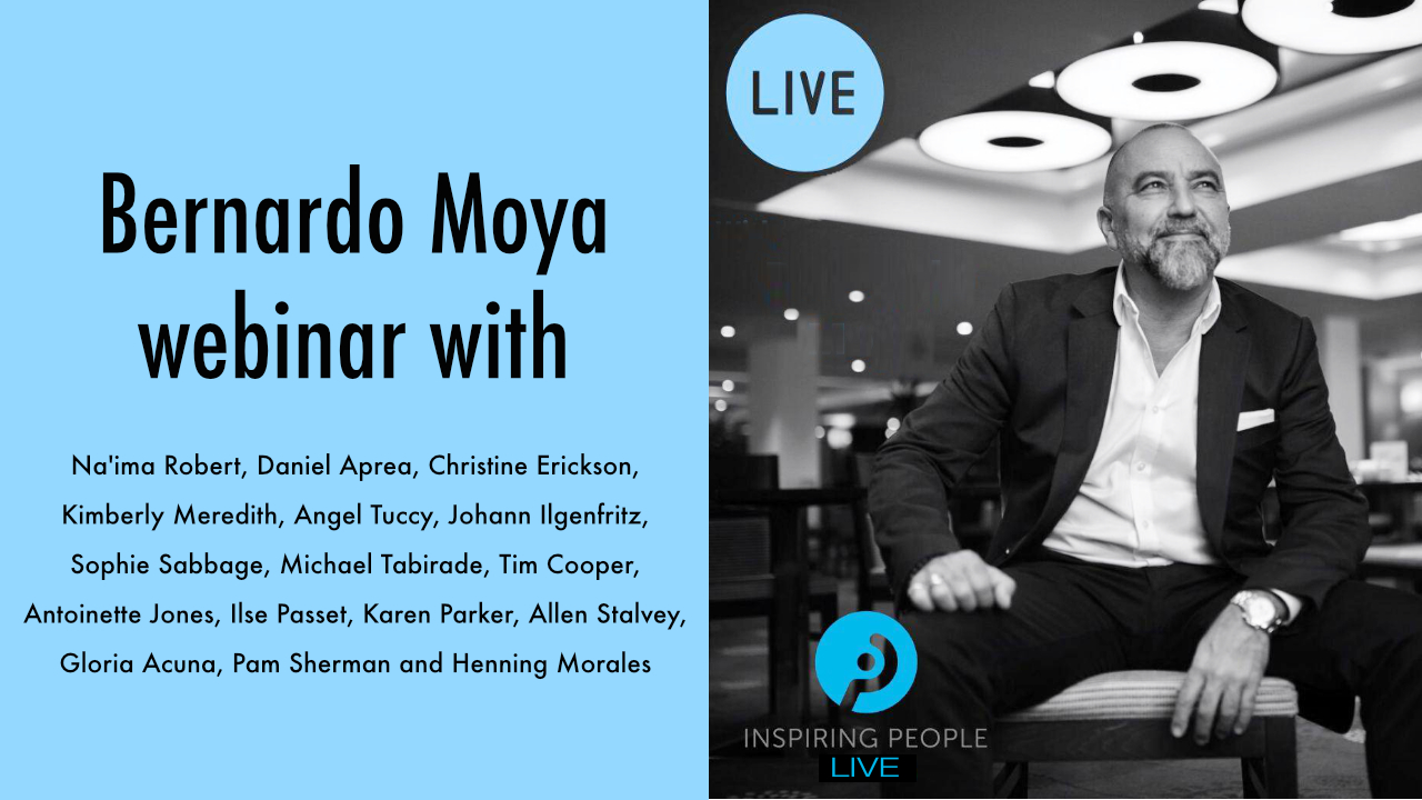 Inspiring People LIVE webinar