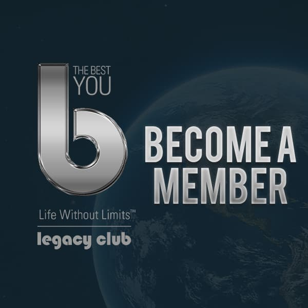 Become a The Best You Legacy member